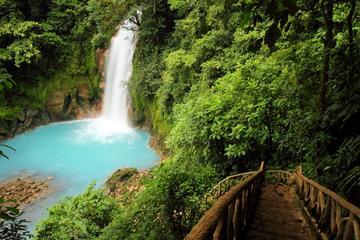 Blue River and Tenorio Volcano National Park Hike Private Tour