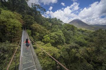 Randonnée sur les ponts suspendus d'Arenal