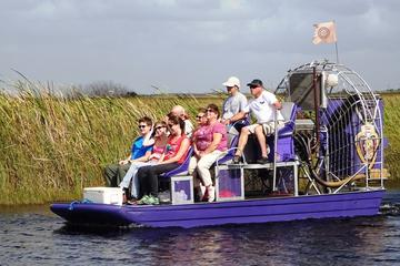 Economy Shared Everglades Airboat Tour From Miami