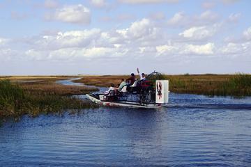 Excursion en hydroglisseur en petit groupe privé dans les Everglades...