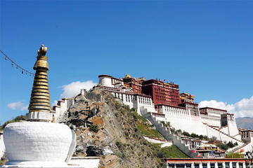 Potala Palace in Llhasa