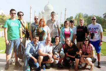 デリーから車でタージマハル、アーグラへのツアー