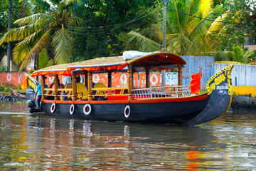 Kochi Private Tour: Kerala Backwater Shikara (Shaded Canoe Boat) Day...