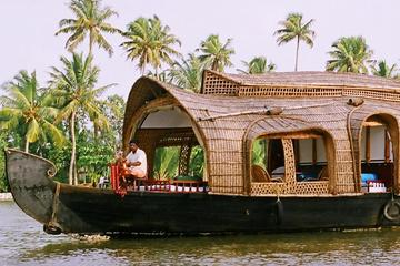 Private Overnight Backwaters Houseboat Cruise in Alleppey