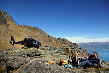 Private Picnic on Cecil Peak with Helicopter Ride