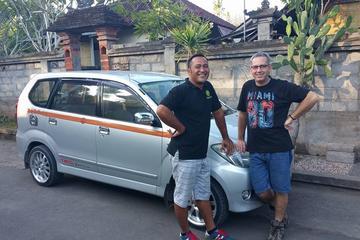 終日のバリ島プライベート運転手付きのカーチャーター