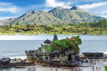 Private Full-Day Kintamani Volcano and Tanah Lot Tour