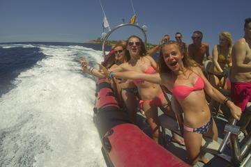 Speedbootausflug und Höhlen-Schnorcheltour in Ibiza