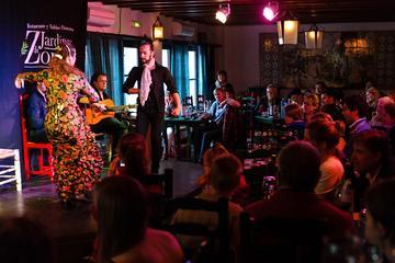 Flamenco-Vorstellung im Jardines de Zoraya, Granada
