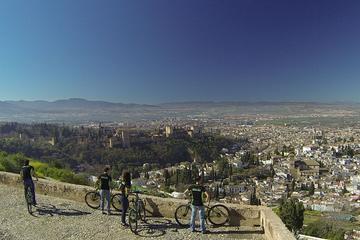 Tour mit Elektrofahrrädern durch die Viertel Albaicin und Sacromonte...