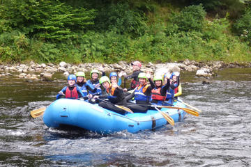 White Water Rafting on the River Tay...