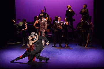 Piazzolla Tango Dinner and Tango Show with Optional Private City Tour