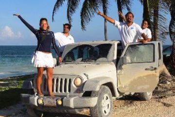 Safari en jeep Sian Ka'an au départ de Playa del Carmen