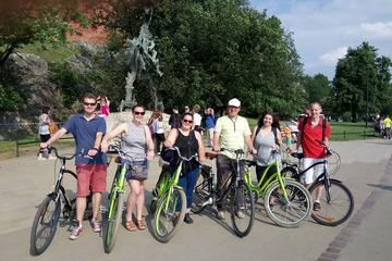 Evening 2h orientation Bike Tour of the Old Town and Wawel castle ...