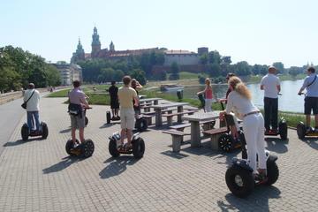 Stadsrundtur på segway i liten grupp i Krakow