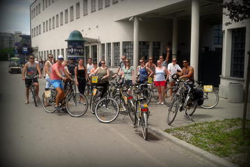 Visite en vélo dans la vieille ville, le quartier juif et le ghetto...