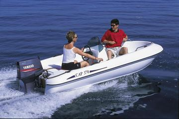 Boat rental up to 4 people in...