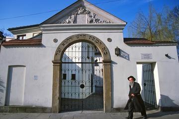 Excursão turística pelo bairro judeu de Kazimierz na Cracóvia...