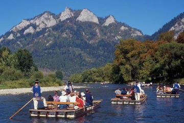 Gita privata di rafting sul fiume Dunajec e al castello di Niedzica