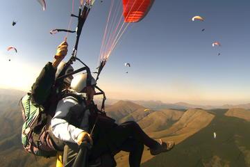 Tandemvlucht paragliding met optioneel vervoer vanuit Rome