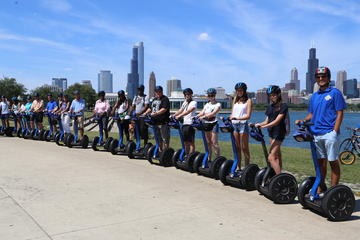 Fantastische Segway-Tour am Seeufer in Chicago