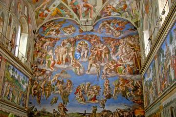 バチカン美術館、システィーナ礼拝堂、サン ピエトロ大聖堂を巡るプライベート…