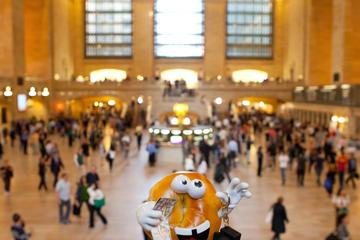 Grand Central: excursão aberta com bagel de gergelim