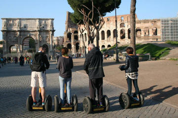 Full Day Private Tour of Rome by Segway