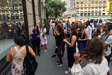 Excursão a pé Fashion Window na cidade de Nova York