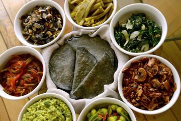 Aula particular de culinária mexicana em um apartamento em Coyoacán