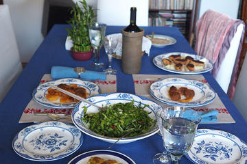 Authentic Greek cooking class market tour and stay with a local in...