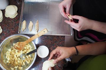 Empanadas y clase tradicional de...
