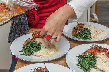 Learn to Cook with a Local Chef in...