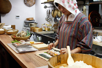 Market Tour and Cooking Lesson in Takayama in a Renovated Historical Building