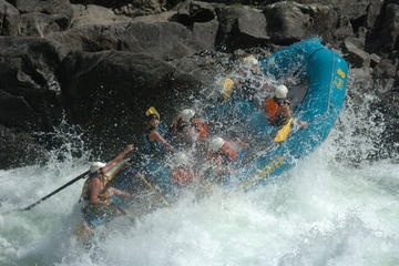 Day Trip 2-Day Ticket to Ride Rafting Trip on the Clearwater River near Clearwater, Canada