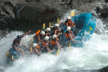 Day Trip Ready-Set-Go Rafting Trip on the Clearwater River near Clearwater, Canada