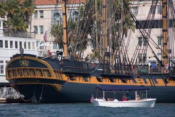 Le Musée Maritime de San Diego et l'embarcadère pour une sortie dans...