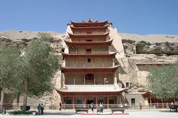 4Days Private Dunhuang Tour:  Mo Gao Caves-Crescent Spring-Singing Sand Dune-Yumen Pass-Great Wall of Han Dynasty and Yadan National Geologic Park-No Shopping Stops