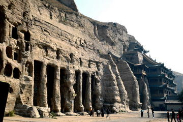 Private Datong Day Tour: Yungang Grottoes-Huayan Monastery-Nine Dragon Screen