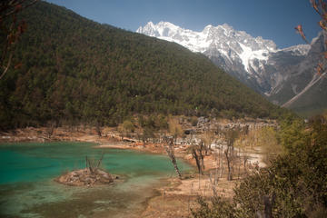 Private Day Tour to Lijiang Jade Dragon Snow Mountain Jade Dragon Snow Mountain-Yushui Village-Yufeng Monastery-No Shopping Stops