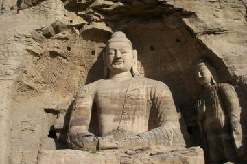 Small Group Max 7 Travellers of Datong Day Tour: Yungang Grottoes-Hanging Monastery-Local Village Visit