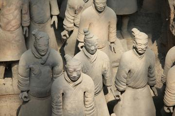 Small Group Xian Day Tour:  Terra-Cotta Warriors and Horses-Xian Museum and Small Wild Goose Pagoda