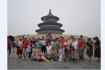 Public Transit tour of Temple of Heaven Hutong Local Foot Massage