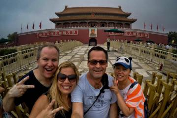 The Public Transport Temple of heaven and Tiananmen  square and Forbidden city and Summer palace one day tour