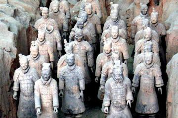 Two-Day Xi'an Trip by High-Speed Train from Beijing:Terracotta Warriors, City Wall and Dumpling Banquet