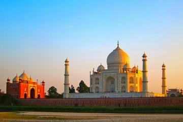 Escursione di un giorno al Taj Mahal all'alba da Delhi