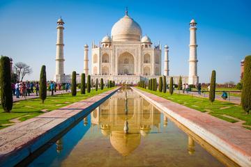 Excursión de un día a Agra: Taj Mahal en el tren Taj Express