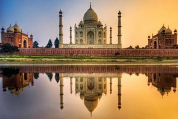 Visita privada de lujo de 3 noches al Triángulo Dorado, a Agra y...