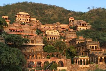Private Day Trip to Neemrana Fort and Bal Quila Including Lunch