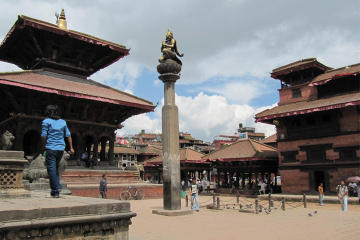 City tour of Bhaktapur and Patan...